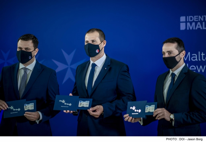 Identity Malta starts rolling out new high-tech ID cards