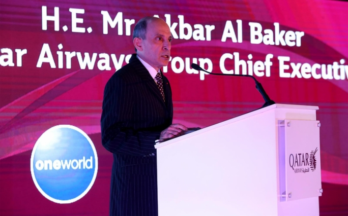 Qatar Airways CEO Akbar Al Baker