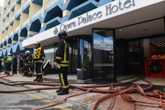 [WATCH] Update 2 | Guests evacuated from Qawra Palace Hotel after fire