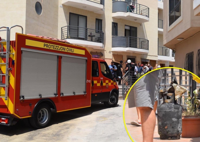 [WATCH] Elderly woman sustains burns in Qormi apartment fire