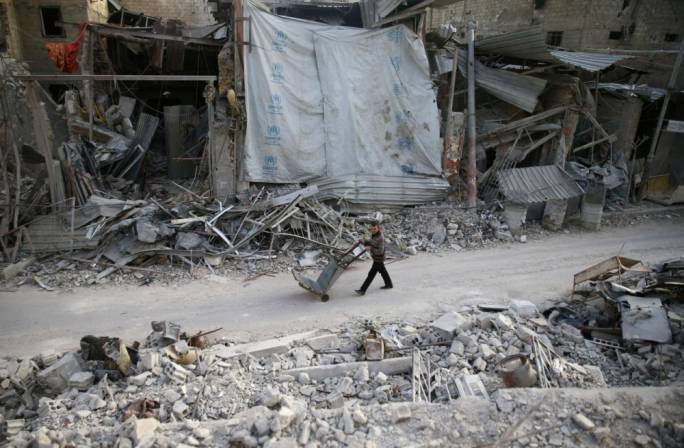 The Syrian government has committed itself to reclaiming Eastern Ghouta, reportedly leaving more than 900 civilians dead