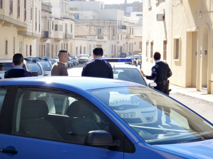 Attempted robbery in Rabat
