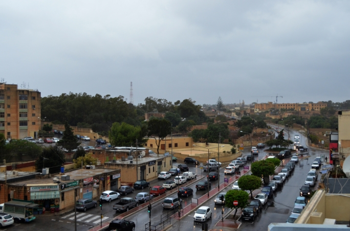 There goes the sun! Spring showers is prelude for stormy weekend in Malta