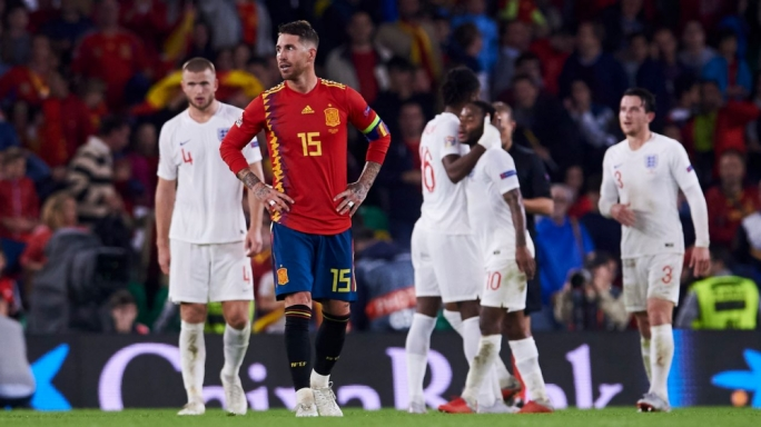 Sergio Ramos labels England as world class following his nation's 3-2 defeat at the hands of the English
