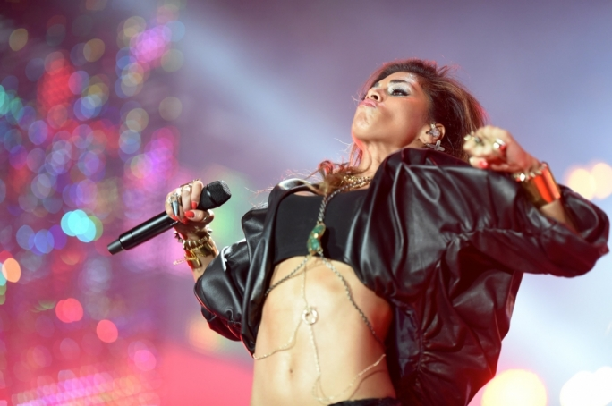 Nicole Scherzinger performs at Isle of MTV last summer. Photo by Ray Attard