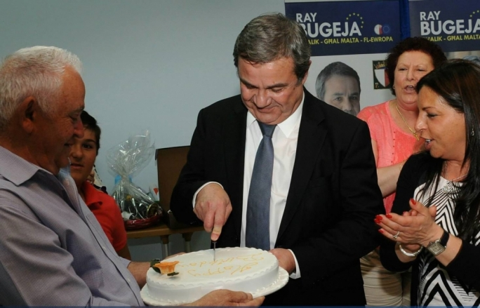 Hey big spender... Ray Bugeja, the PN candidate, spent over €18,000 during his campaign according to his declarations.