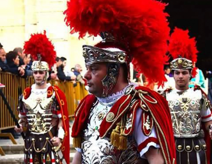 Like all the other 550 or so people who participate in Zejtun's Good Friday procession, Renato bought his own attire, of course following strict guidelines