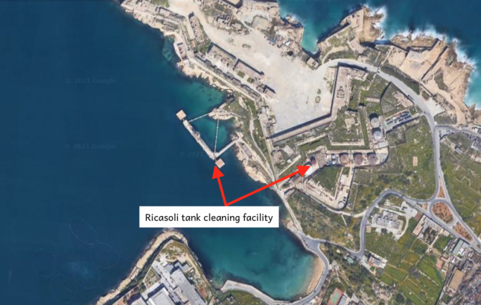 Fort Ricasoli to be freed from unsightly oil tanks
