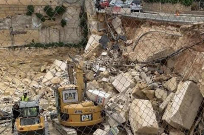 Building regulator asks police to initiate criminal action against developer and architect after St Julian's road collapse