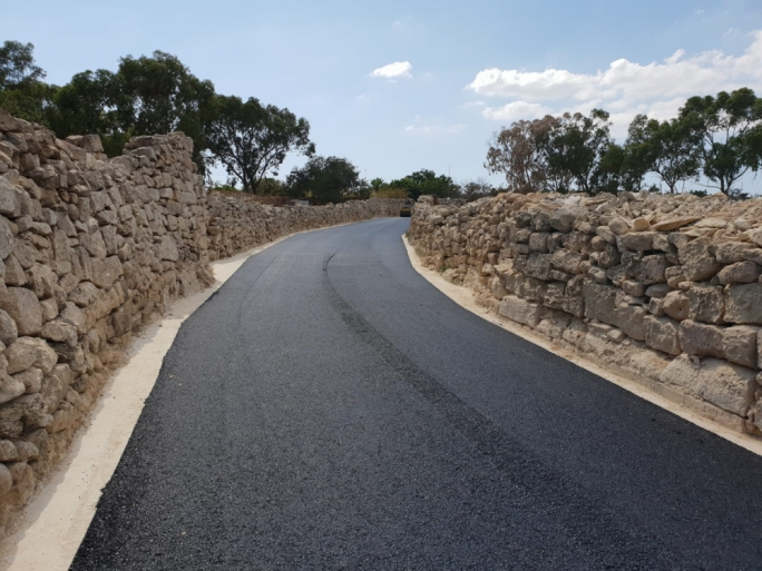 The Transport ministry has said that a total of 33 rural roads will be resurfaced over the coming months