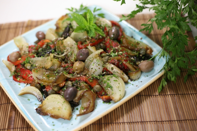 Mediterranean roasted veg