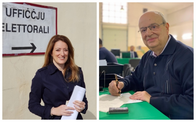 Metsola, Zammit Dimech submit EP election nomination