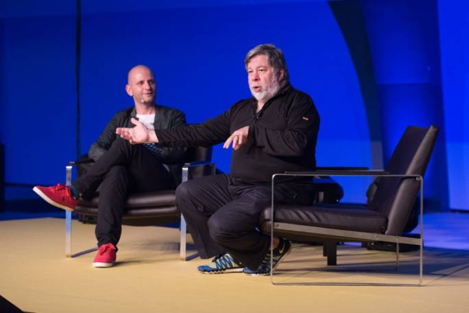 Gaming Innovation Group (GiG) Ceo Robin Reed and Apple co-founder and tech icon Steve 'Woz' Wozniak