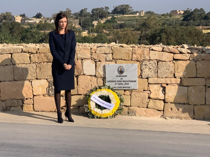 [WATCH] 'Let's not be defined by this horrible incident,' equality parliamentary secretary one year on from Lassana murder