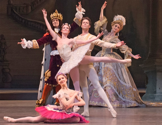 The Royal Ballet's staging of The Sleeping Beauty was revived for the company's 75th anniversary celebrations in 2006