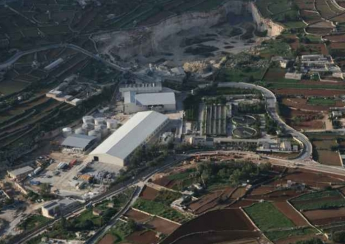 The Sant Antnin waste recycling plant
