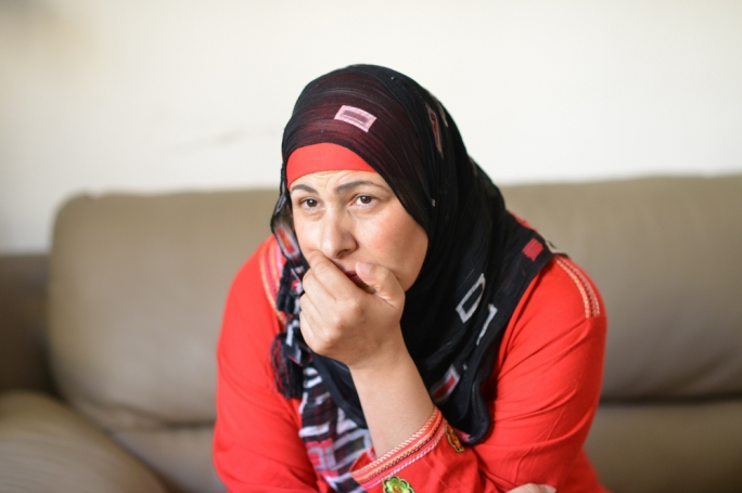 Palestinian campaigner Sanaa Al Nahhal-Acis (Photo: Ray Attard)