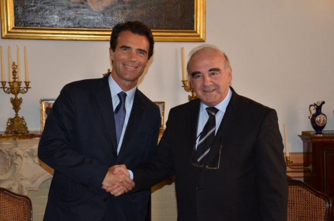 George Vella meets Italian minister for European affairs
