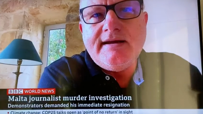Saviour Balzan interviewed on BBC