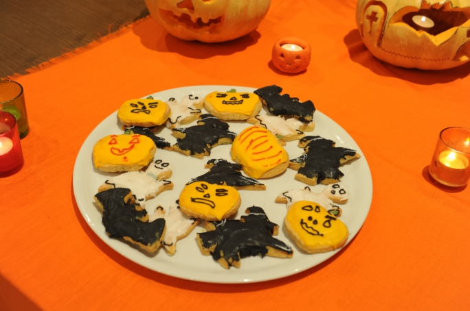Ghoulsome cookies