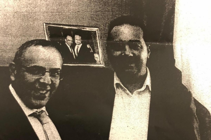 Keith Schembri and the man now known to have been Yorgen Fenech's henchman, Melvin Theuma