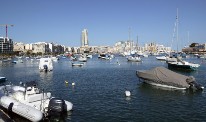 What the tower will look like from the Gzira waterfront