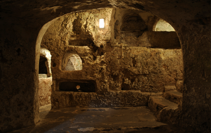 Only two out of 24 catacombs in the St Paul's cluster are currently open to the public