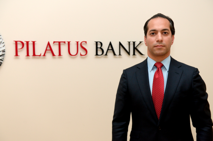 The chairman of Pilatus Bank Ali Sadr Haseminejad was arrested in the US on Monday