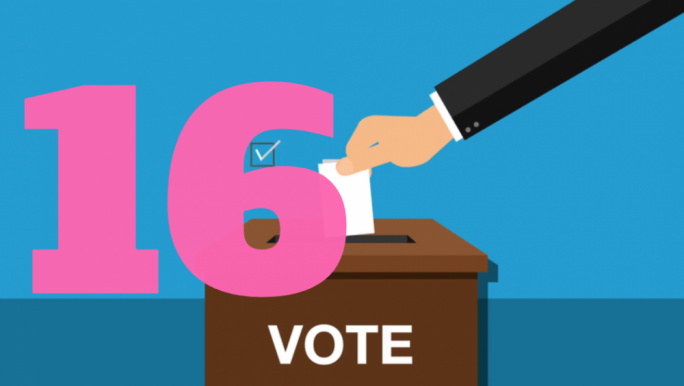 'Vote16' has been unanimously approved in Parliament this evening
