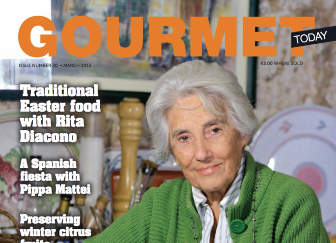 Read the March issue of Gourmet Today here
