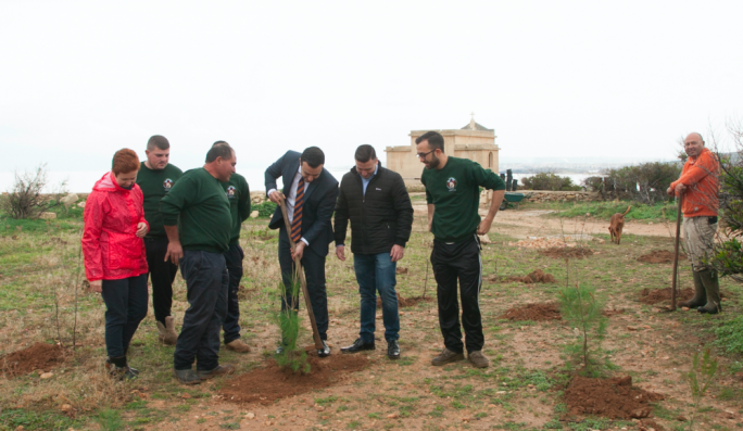 150 trees to be planted at L-Ahrax tal-Mellieha