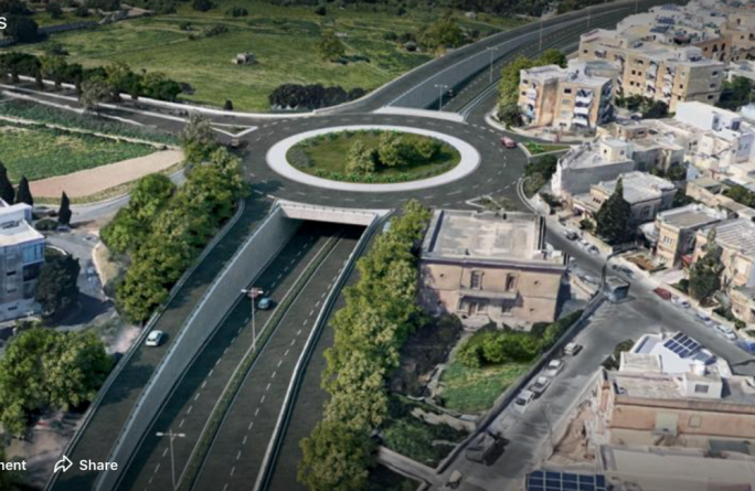 Updated | Santa Luċija road tunnels get planning permit