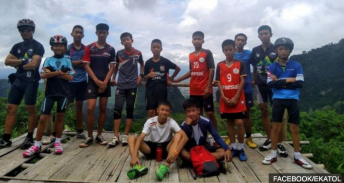 The Thai boys who went missing in a cave complex