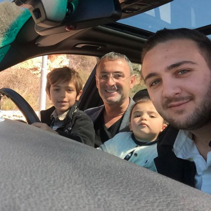 Chetcuti with son Luke and his two grandchildren (Photo: Luke Chetcuti/Instagram)