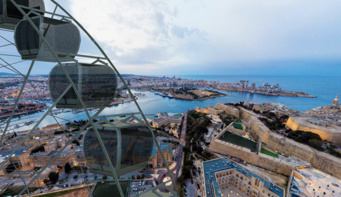 Floriana Ferris wheel photos show views from proposed 'Malta Eye'