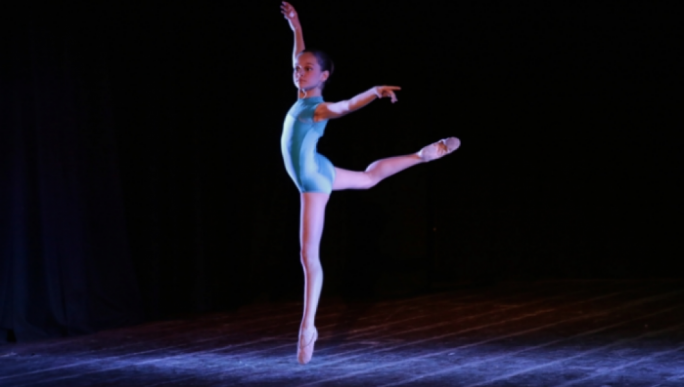 Young Lea Ellul Sullivan chosen as a Royal Ballet School international scholar