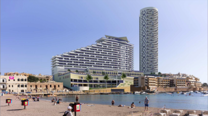 The Planning Directorate has recommended that the DB Group's Hard Rock Hotel be approved