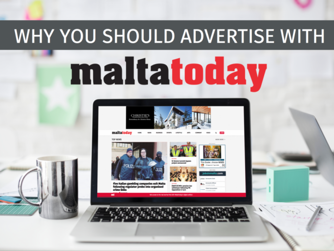 Advertise with MaltaToday, a platform to take your business forward