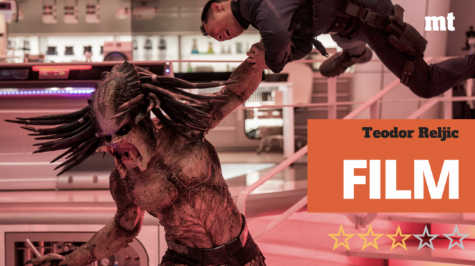 Out of this world: The Predator (Brian A. Prince) has no time to waste in this fourth installment of the action-horror-sci-fi franchise that carries his name