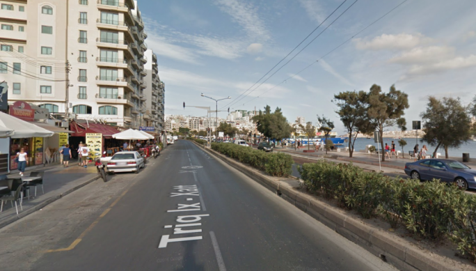 The carriageway from Gżira to Sliema along the Strand will be closed to traffic on Saturday for Car Free Day celebrations