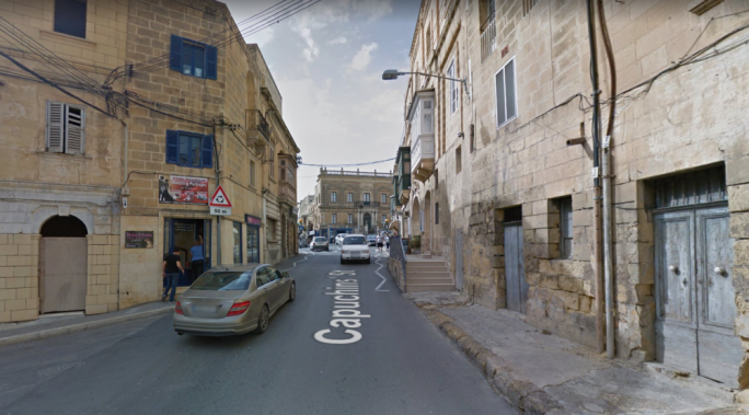 The woman was found dead in an apartment in Triq il-Kapuccini in Rabat, Gozo (Photo: Google Maps)