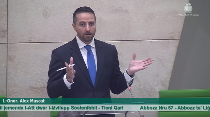 PL MP Alex Muscat