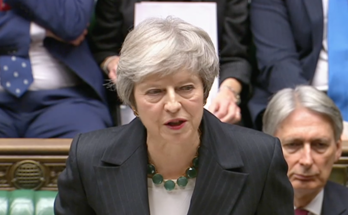 British Prime Minister Theresa May told the Commons this morning that the draft withdrawal agreement was not the final Brexit deal