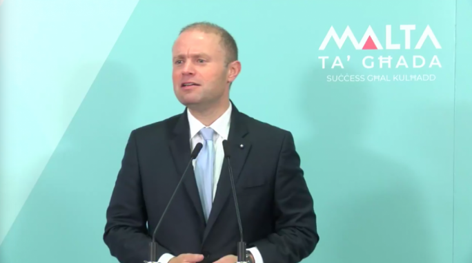 Joseph Muscat said Electrogas report was 'respectfully imprecise'