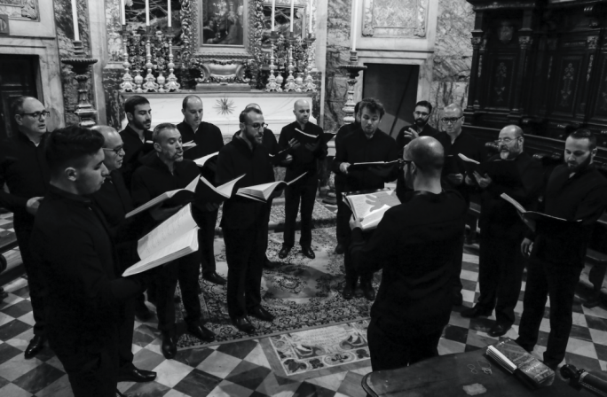 Alexander Vella Gregory, Artistic Director of the Cappella Sanctae Catharinae choir