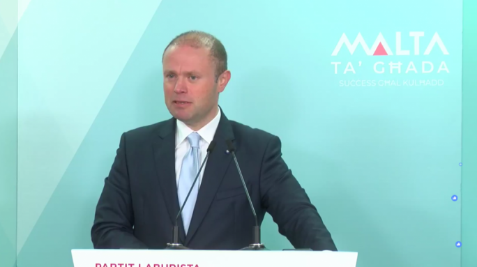 [WATCH] Joseph Muscat condemns keyboard warriors on migrant issue