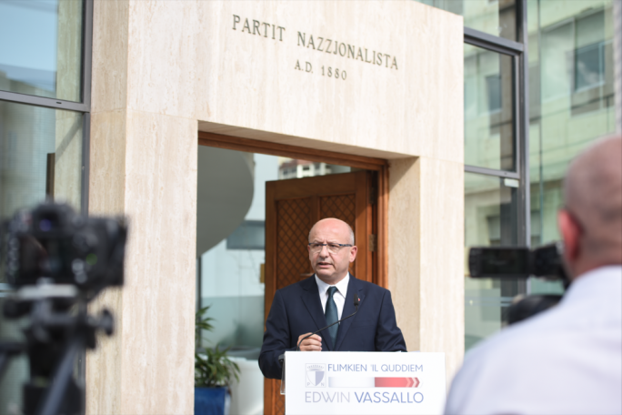 Nationalist MP Edwin Vassallo says the PN was seduced by a liberal wave under its past two leaders, and says that Adrian Delia can take the party back to its roots but that he is being undermined by internal critics