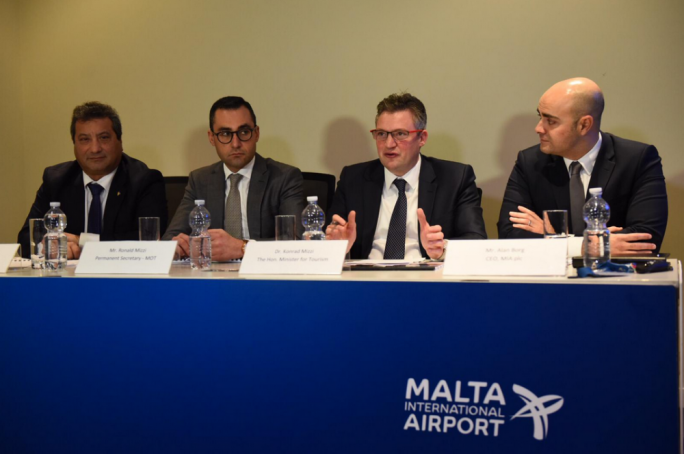 Malta International Airport reports growth in all major markets in 2018