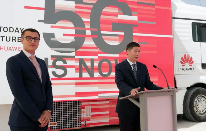 Digital economy parliamentary secretary Silvio Schembri (left). In addition to its role in the Safe City project, Huawei has also signed two memoranda of understanding with the Maltese government including one about the provision of 5G mobile connectivity