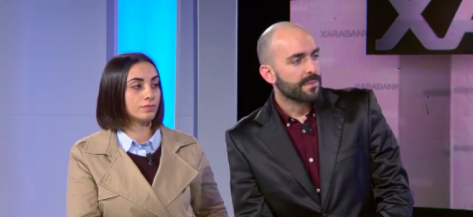Self-proclaimed 'ex-gay' Kylie Vella and Matthew Grech tell Xarabank presenter Peppi Azzopardi that they have been attacked for their views